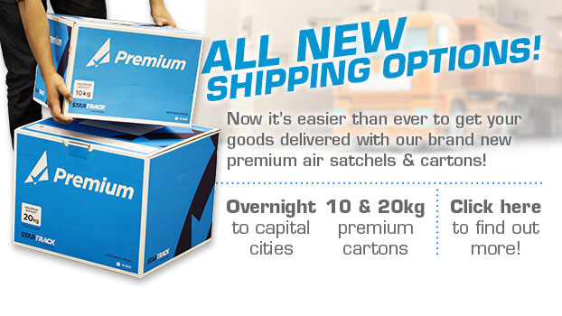 View our new shipping options