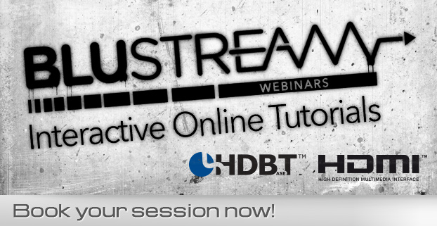 Book your Blustream online tutorial session now