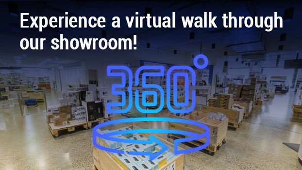 Walk through our showroom in 360 degrees!