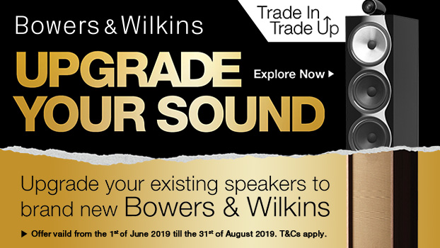 Trade in and Trade up your B&W Speakers!