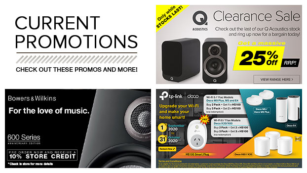 Check out these Promos and more!