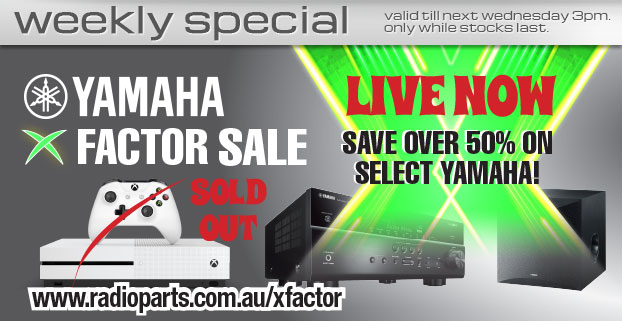 YAMAHA XFACTOR SALE STARTS TOMORROW AT 10AM